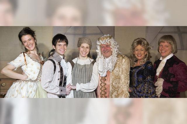 """Kindertheater: """"Aschenbrödel – Aschenputtel"""""""