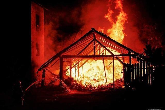 Brandserie in Breisach steht vor der Aufklärung