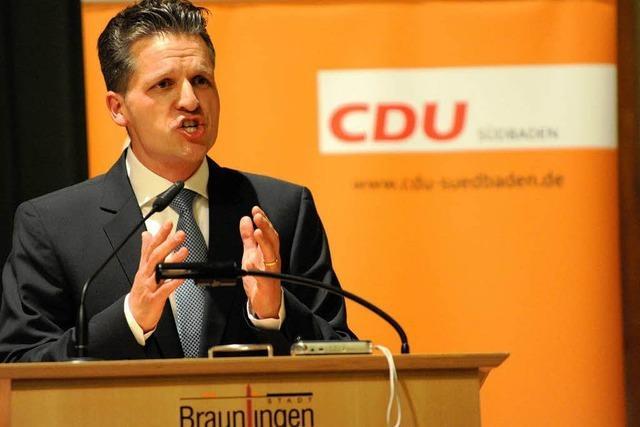 Niederlage für Siegfried Kauder - CDU nominiert Frei