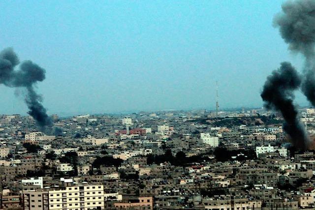 Israel zerbombt Hamas-Zentrale