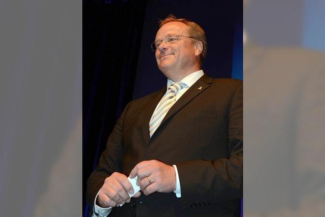 Dirk Niebel ist Spitzenkandidat der Südwest-FDP