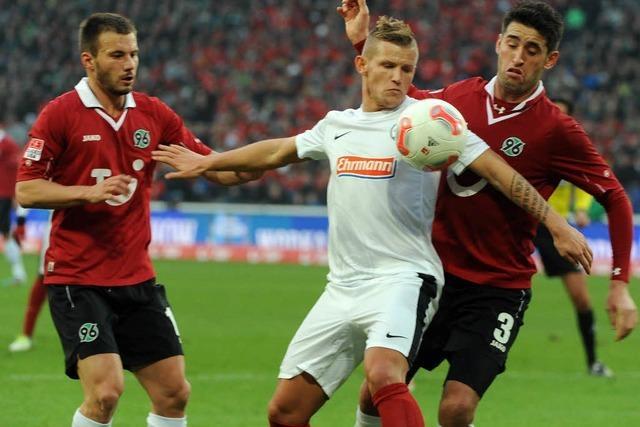 SC Freiburg gewinnt 2:1 gegen Hannover 96