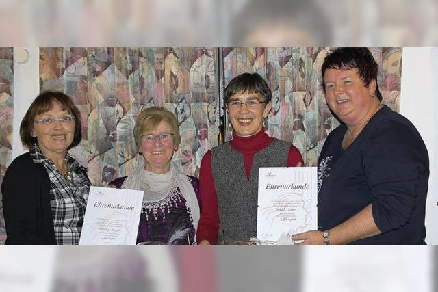 Auszeichnung für engagierte Frauen