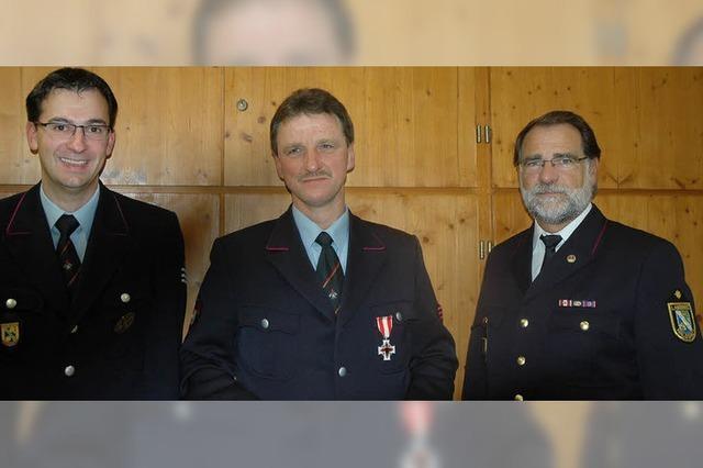Ruhiges Jahr für Feuerwehr