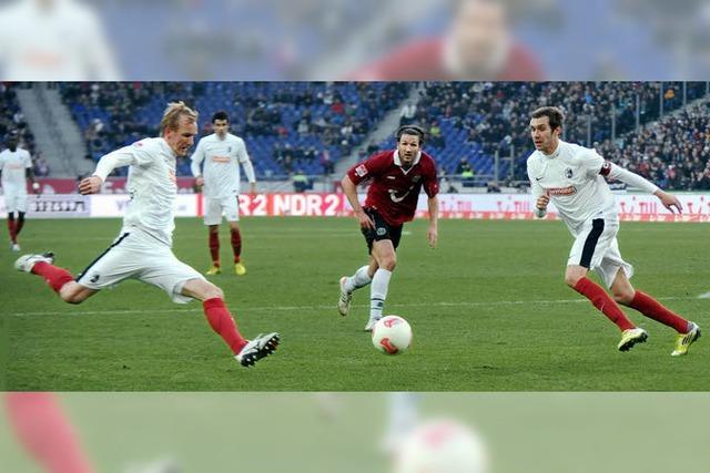 2:1-Sieg in Hannover - die bisher beste Saisonleistung