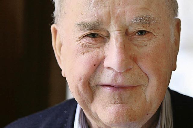 Philipp Röderer feiert seinen 85. Geburtstag