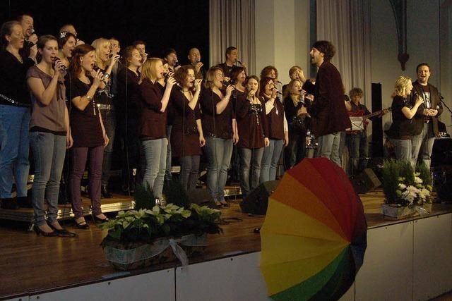Bekenntnis zum Glauben und musikalischer Genuss
