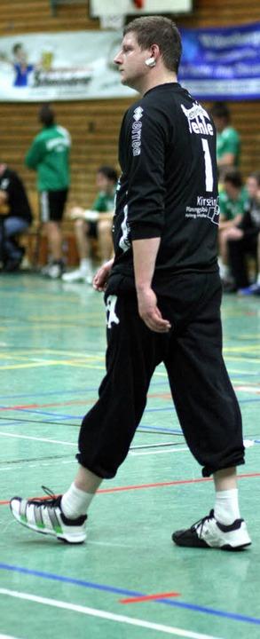 HGW-Torwart Patrick Neff bot eine starke Leistung.   | Foto: Archiv: A. Buss