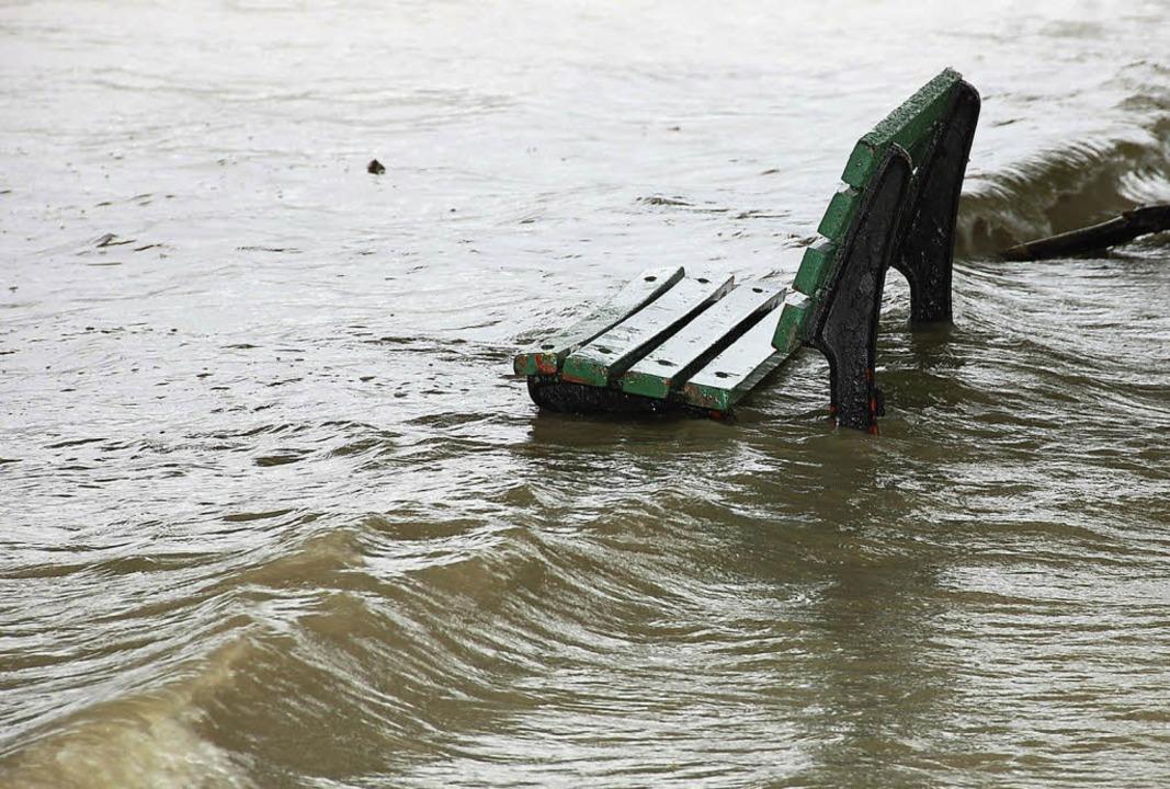 In Außenbereichen ist Hochwasser meist...vor Überschwemmungen geschützt werden.    Foto: Felix Herbstritt/Silvia Faller