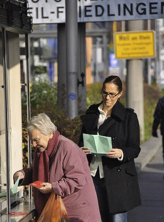 Regionale CDU-Politiker wollen den Status quo bei den grünen Zetteln erhalten.     Foto: Gramespacher