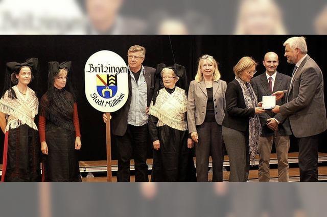 Britzingen hat jetzt seine Silbermedaille