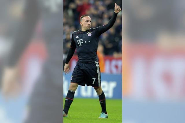 Bayerns Messi heißt Ribéry