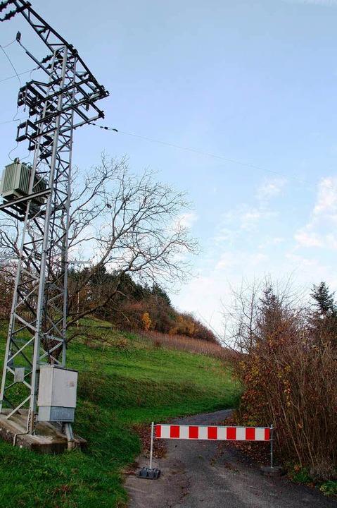 """Am Bollschweiler Steinberg besteht die... der Straße """"Am Rebberg"""".     Foto: Silvia Faller"""
