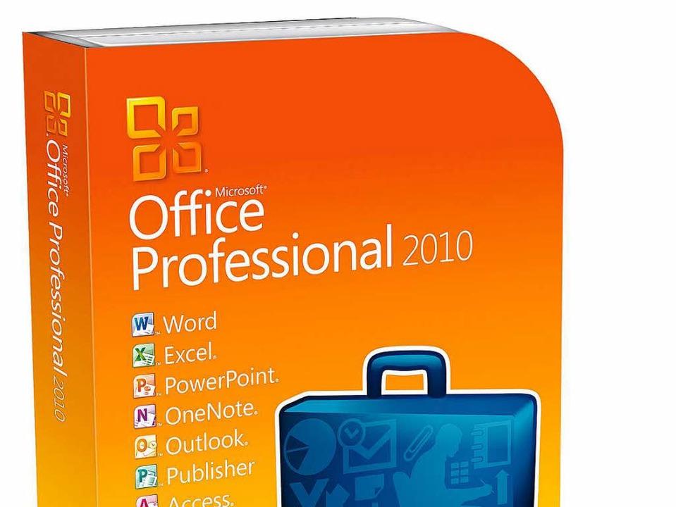 Künftig soll in Freiburg mit Microsoft Office 2010 gearbeitet werden.  | Foto: dpa-tmn