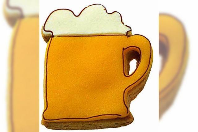 Ein Bierkrug als Plätzchenausstecher