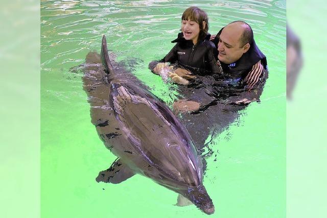 Selbstvertrauen stärken mit Delfinen
