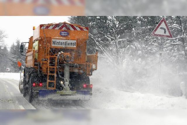 Bauhöfe für Wintereinbruch gerüstet