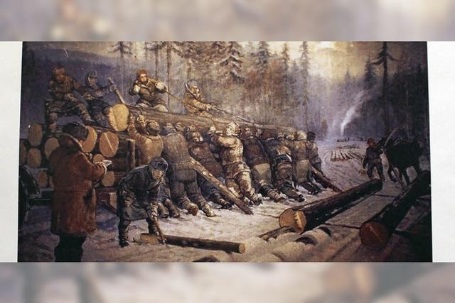 Der Leidensweg in Russland
