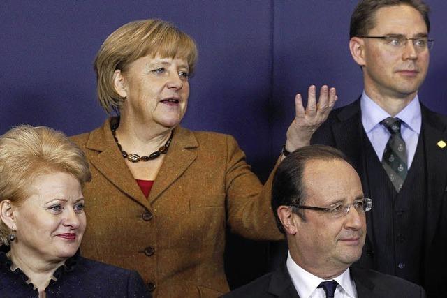 Merkel verbreitet Zuversicht