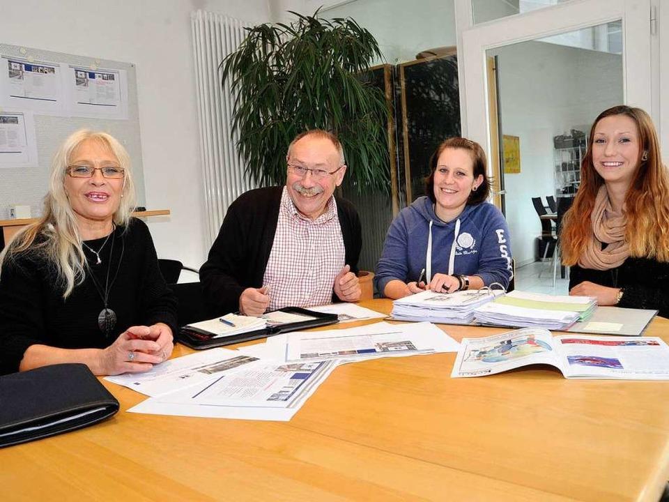 Die Zeichensetzer der Werbeagentur Har...Kamphaus und Svenja Kluge (von links).    Foto: Volker Münch