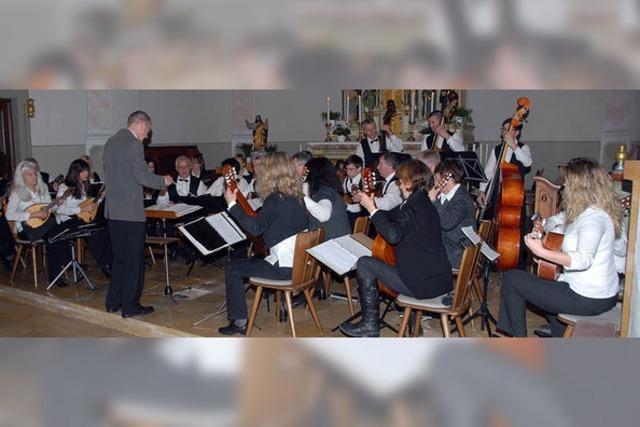 Virtuose Zupfmusik