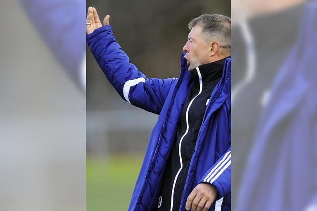 Trainer Ackermann hätte sich ein Tor mehr gewünscht