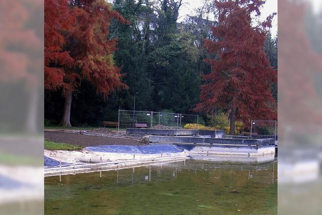 Ufer wird neu gestaltet