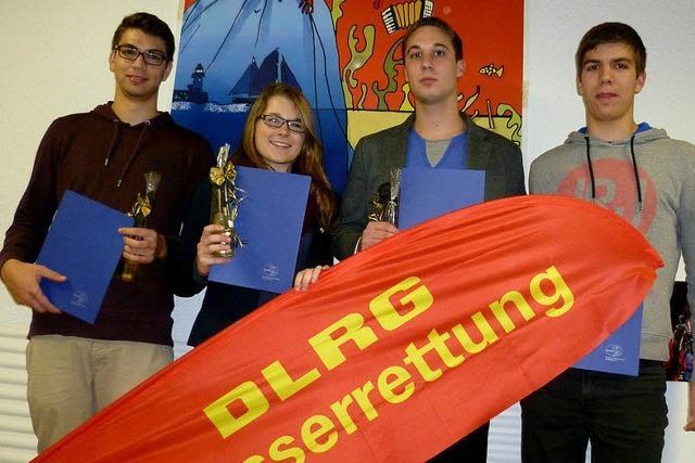 DLRG Rheinfelden hat viele treue Mitglieder