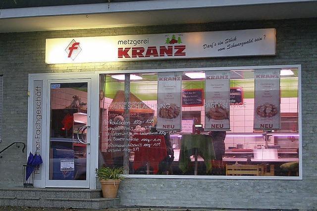 Metzgerei Kranz am Ende