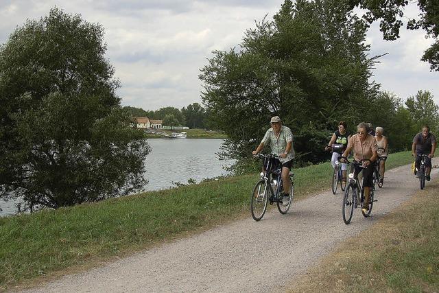 Das Rheingold mit dem Rad finden