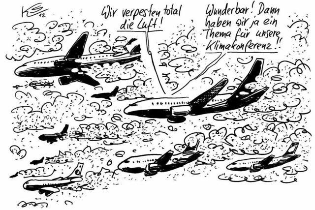 Beim Anflug auf Doha ...