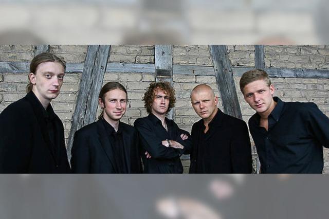 Latvian Blues Band bei der Weiler Bluesnacht