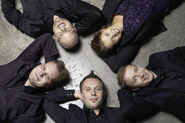 Das Calmus-Ensemble singt in Lörrach
