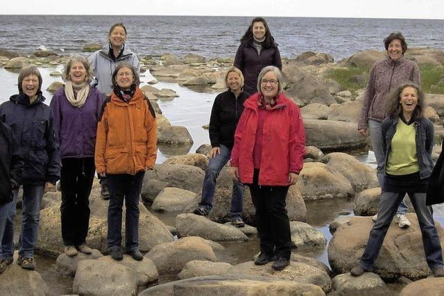 Frauenkammerchor CanTanten singt in Staufen