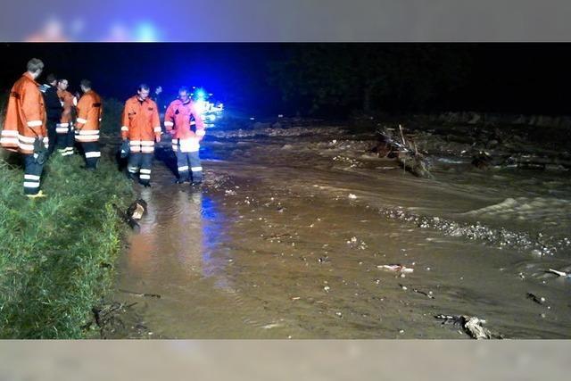 Hochwasser beschäftigt noch immer