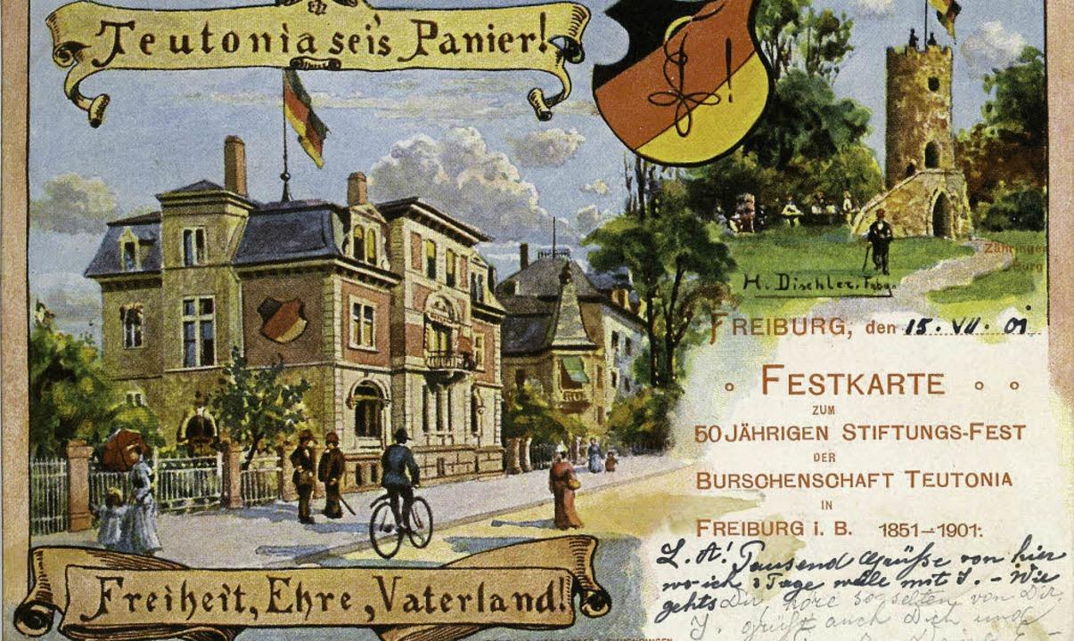 Die 1851 gegründete Teutonia Freiburg ...en liberalen Burschenschaften im Land.  | Foto: manfred gallo