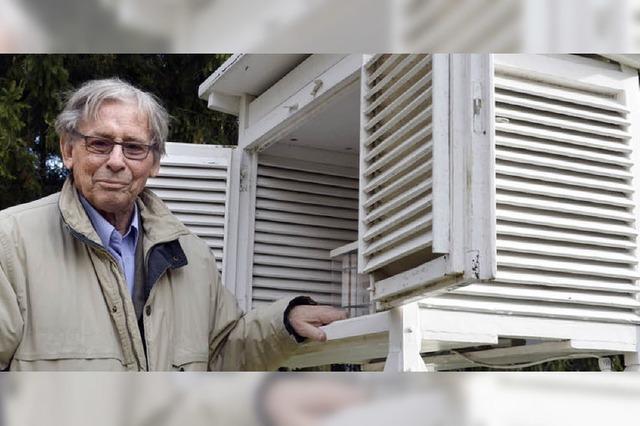 Hobby-Meteorologe Werner Brockhaus: Bei Wind und Wetter