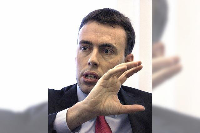 Finanzminister Nils Schmid: Mit Vernunft den bösen Buben spielen
