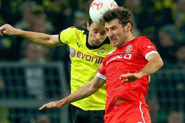 Dortmund spielt gegen Düsseldorf 1:1