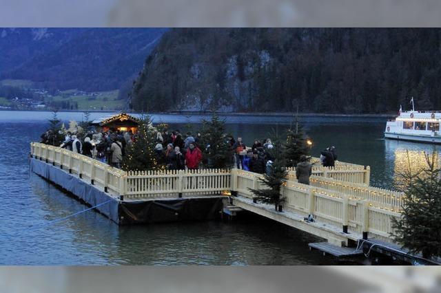 Adventsfeier am Wolfgangsee