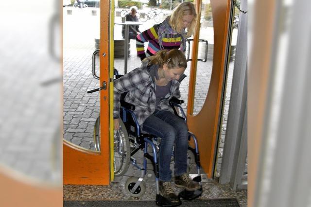 Viele Hürden für Behinderte