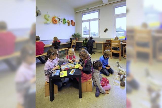 Neue Schule in der alten