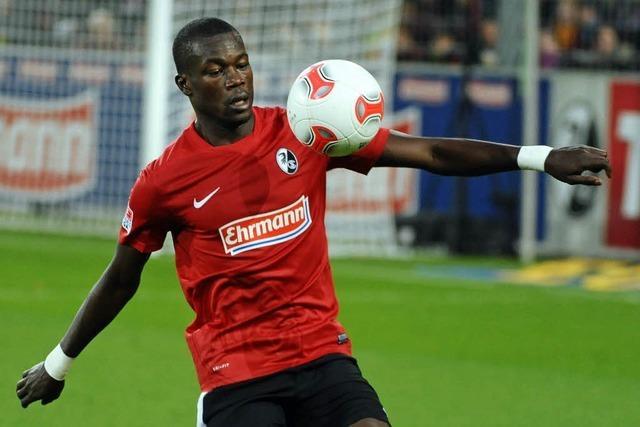 SC-Verteidiger Diagne für zwei Spiele gesperrt