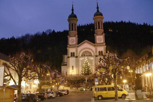 Weihnachtliches Markttreiben in Todtnau