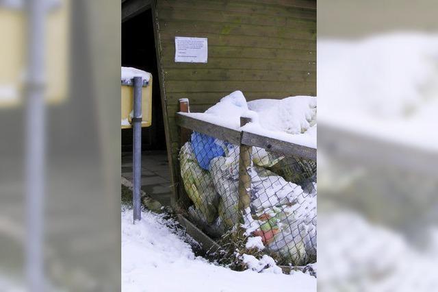 Müll und Hundekotbeutel sorgen für Ärger