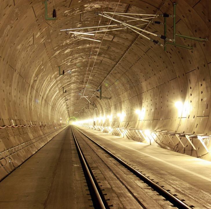 Katzenbergtunnel fertig  | Foto: DB ProjektBau GmbH, Sebastian Roedig