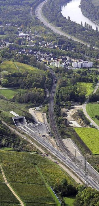 Katzenbergtunnnel, Nordportal  | Foto: ERHARD HEHL