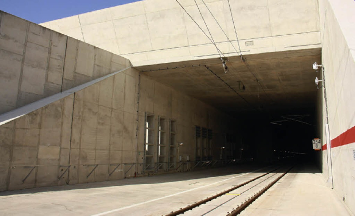 Katzenbergtunnel, Südportal  | Foto: DB ProjektBau GmbH, Sebastian Roedig