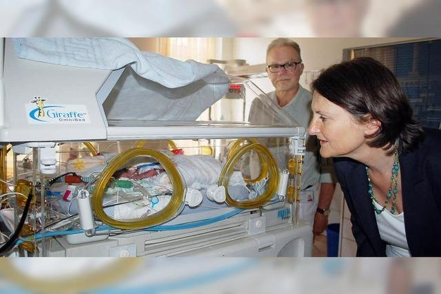 Serratia-Bakterien auf Frühgeborenenstation