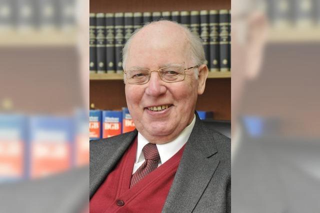 Trauer um den ehemaligen Landesminister Rudolf Schieler
